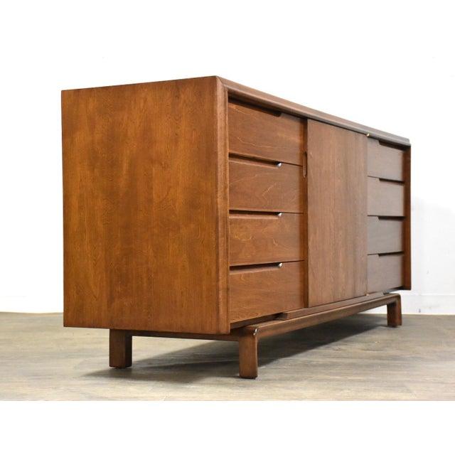 Mid-Century Modern Edmond Spence Swedish Modern Dresser Credenza For Sale - Image 3 of 12