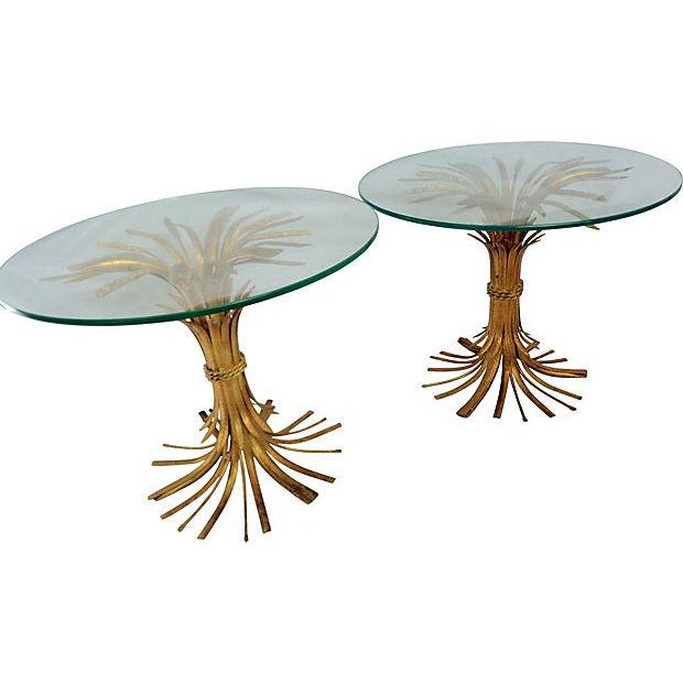 Italian Wheat Sheaf Side Tables - A Pair - Image 2 of 5
