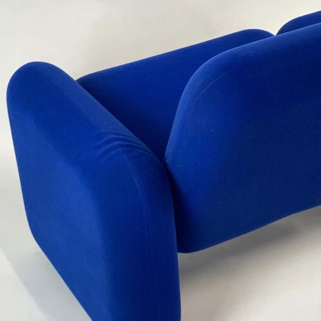 "Metal Iconic Modern Design 1970s ""Chiclet"" Sofa Settee by Ray Wilkes for Herman Miller For Sale - Image 7 of 13"