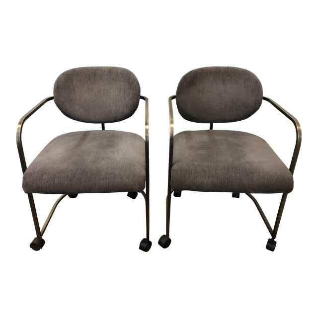 1970s Vintage Institute of America Chairs- A Pair For Sale
