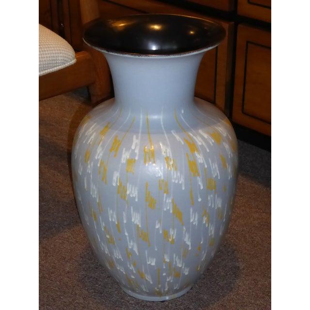 Carstens Tonnieshof German Mid-Century Modern Floor Vase 1956 For Sale In Miami - Image 6 of 10