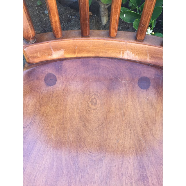 Arts & Crafts Sikes Arts and Crafts Maple Rocking Chair For Sale - Image 3 of 11