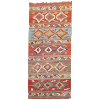 Konya Kilim Rug - 5′2″ × 12′2″ For Sale