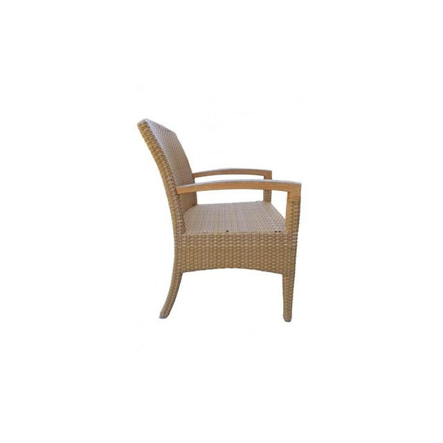 Gloster Plantation Outdoor Dining Armchairs - a Pair For Sale In New York - Image 6 of 9