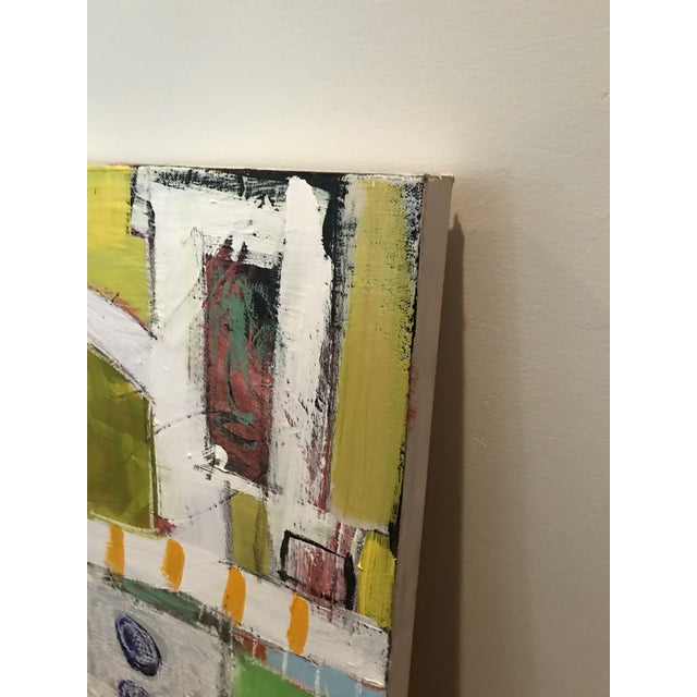 """Contemporary Contemporary Abstract Sarah Trundle Painting, """"Vroom Vroom"""" For Sale - Image 3 of 3"""