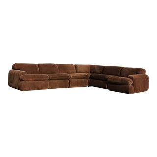 Vintage 1970s Vladimir Kagan Modular Sectional Sofa by Preview For Sale