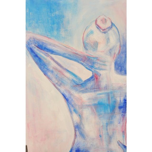 Nude Female Figure Painting - Image 3 of 4