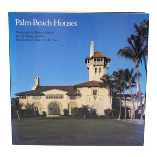 "1st Ed 1991 Rizzoli ""Palm Beach Houses"" Coffee Table Book by Shirley Johnston For Sale"