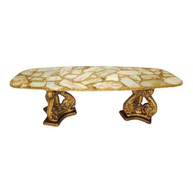 20th Century Hollywood Regency Arturo Pani Coffee Table For Sale