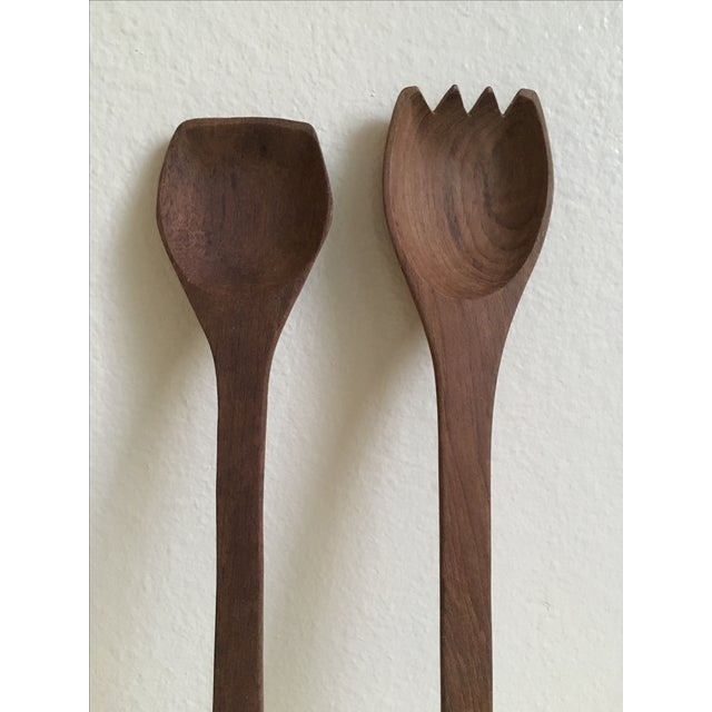 Rustic Spoon & Fork Decor Set - Image 3 of 4