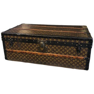 20th Century Louis Vuitton Monogram Canvas Cabin Trunk C. 1940 For Sale