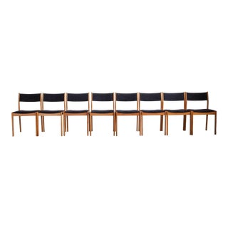 D Scan Dining Chairs - Set of 8 For Sale