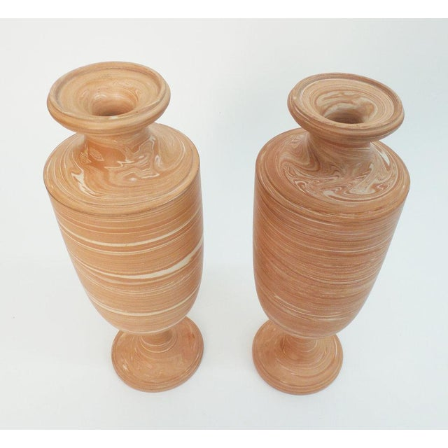 Pair of Torquay Vases For Sale - Image 4 of 5