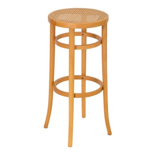 Pair of Thonet Bentwood Bar Stools For Sale