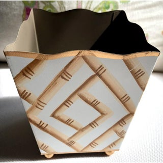 Bamboo Tole Cachepot Preview