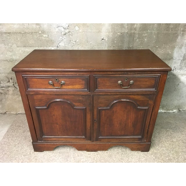 Mid 19th Century Antique English Petite Sideboard For Sale - Image 12 of 12