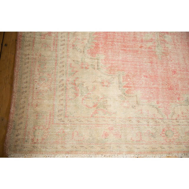 """Vintage Distressed Oushak Carpet - 6'2"""" X 10'8"""" For Sale In New York - Image 6 of 13"""