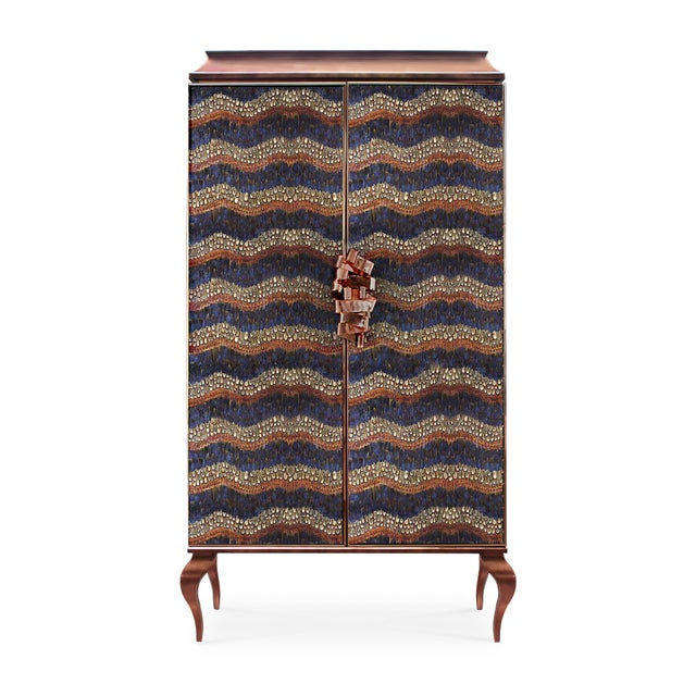 Contemporary Divine Armoire From Covet Paris For Sale - Image 3 of 6