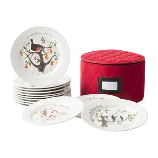 Juliska - 12 Days of Christmas Salad/Dessert Plate - 13 Pieces For Sale