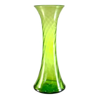 Blenko Mid-Century Floor Vase For Sale