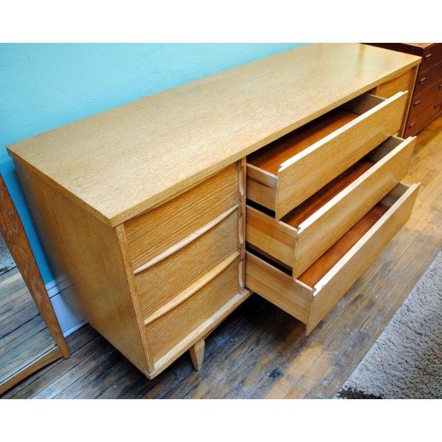 "1950s Mid-Century Kent Coffey ""Escort"" 9-Drawer Dresser For Sale - Image 5 of 9"