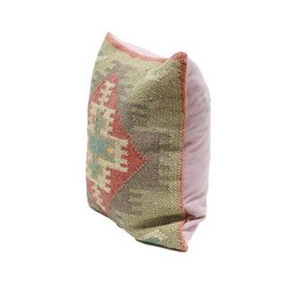 Turkish Kilim Woven Throw Pillow Preview