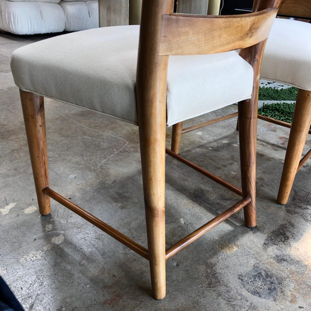 Gio Ponti Ladderback Chairs, Italy, 1940s - a Pair For Sale - Image 10 of 13