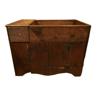 Early American Primitive Dry Sink For Sale