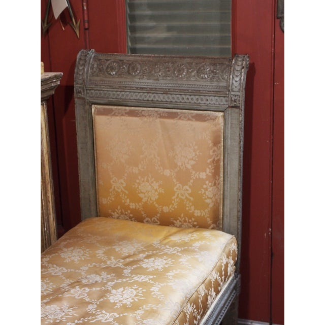 Louis XVI 18th Century Louis XVI Banquette/Recamier For Sale - Image 3 of 9