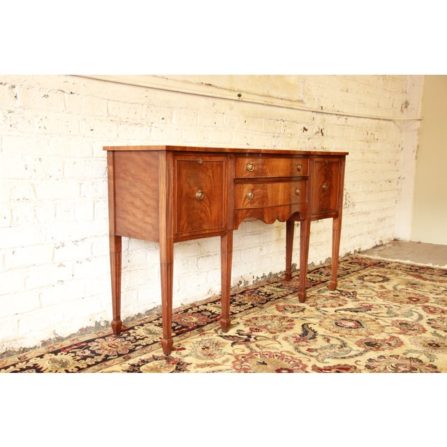 Federal Style Flame Mahogany Sideboard - Image 5 of 11