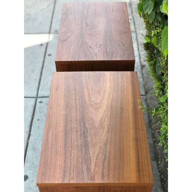 Mid-Century Modern Nightstands by Basic Witz For Sale - Image 10 of 13