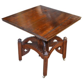 19th Century Folk Art Occasional Table For Sale
