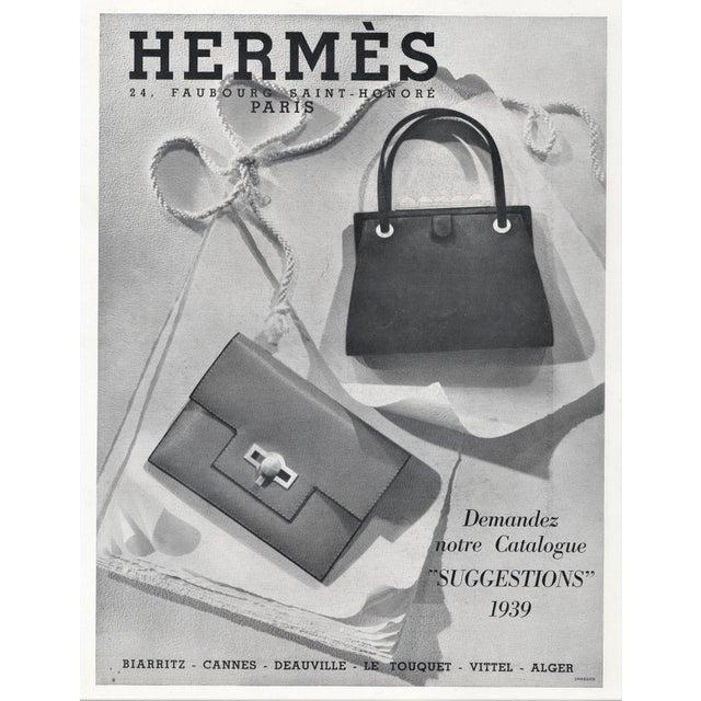 1930s Matted Vintage Art Deco Hermes Print-Handbags For Sale - Image 5 of 5