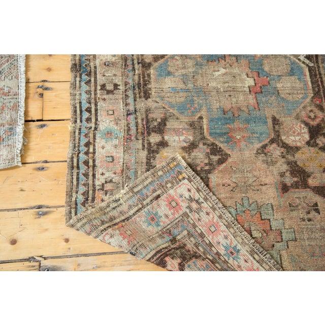 """Distressed Antique Caucasian Rug - 3'6"""" X 5'11"""" - Image 9 of 10"""