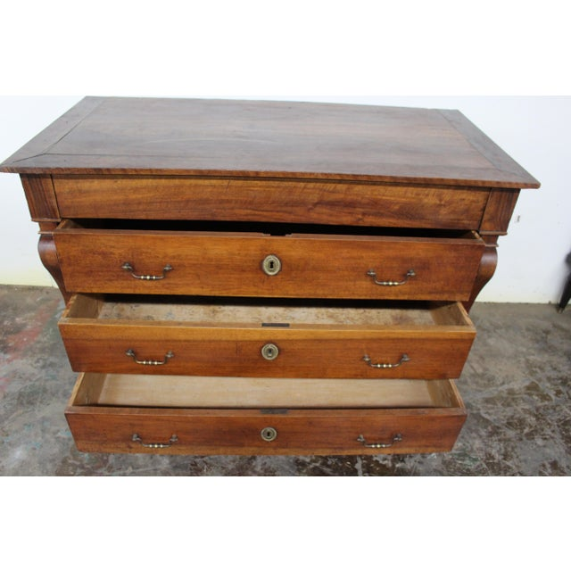 19th Century French Three Drawer Commode For Sale In Atlanta - Image 6 of 12