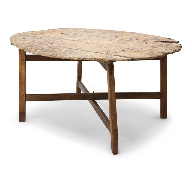 Unusually Large Early Vendange Table For Sale - Image 13 of 13