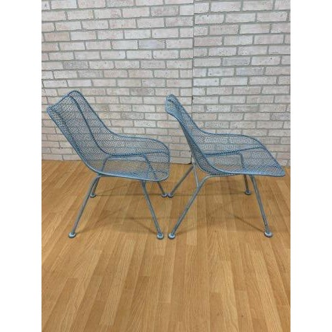 Mid-Century Modern Mid Century Modern Russel Woodard Sculptural Collection Patio Chairs - Pair For Sale - Image 3 of 11