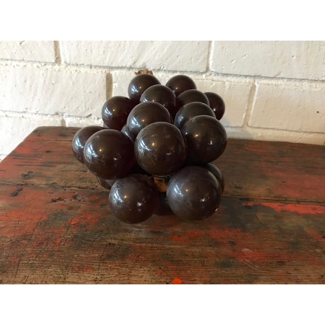 Vintage Brown Resin Grape Cluster For Sale In Los Angeles - Image 6 of 10