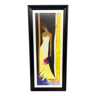 2001 Feminite Emile Bellet Limited Edition Lithograph For Sale