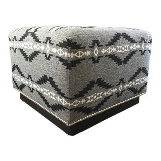 Ralph Lauren Home Modern Hollywood Aztec Ottoman For Sale