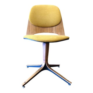 Mid Century George Mulhauser Swivel Chair for Plycraft For Sale