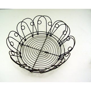 Vintage French Expandable Wire Basket or Tray Preview