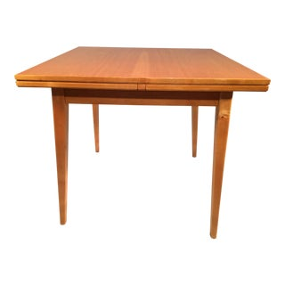 Risom-Style Birch Dining Table