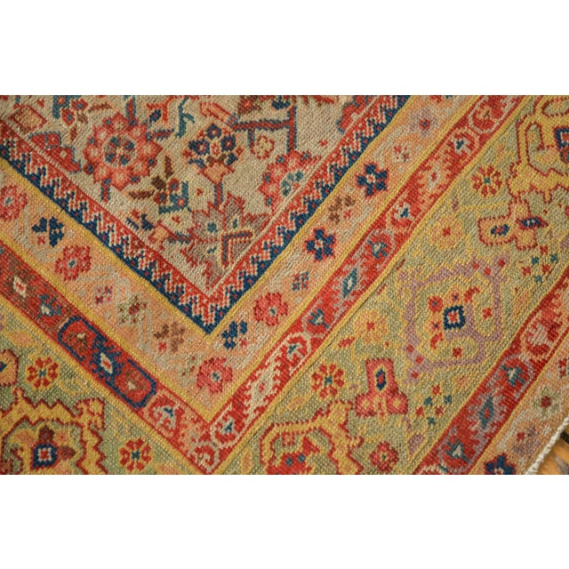 "Antique Distressed Malayer Rug Runner - 6'5"" X 12'8"" For Sale - Image 11 of 13"