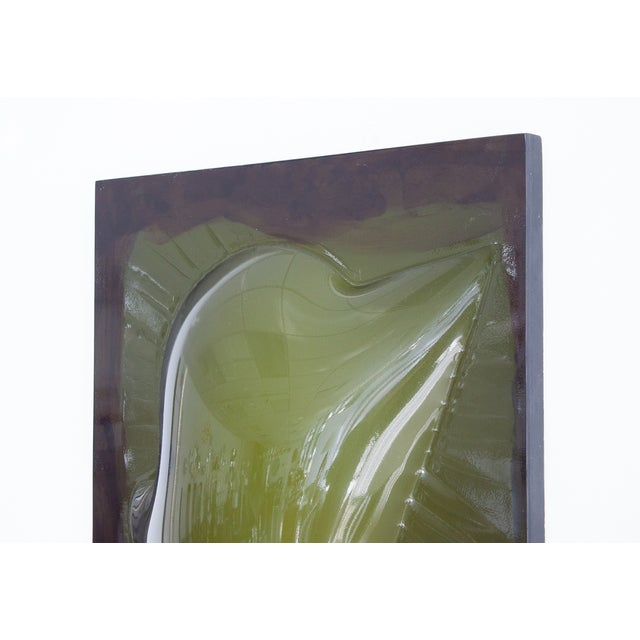 Niel Fiertel Vacuum Molded Plexi Wall Sculpture - Image 7 of 9