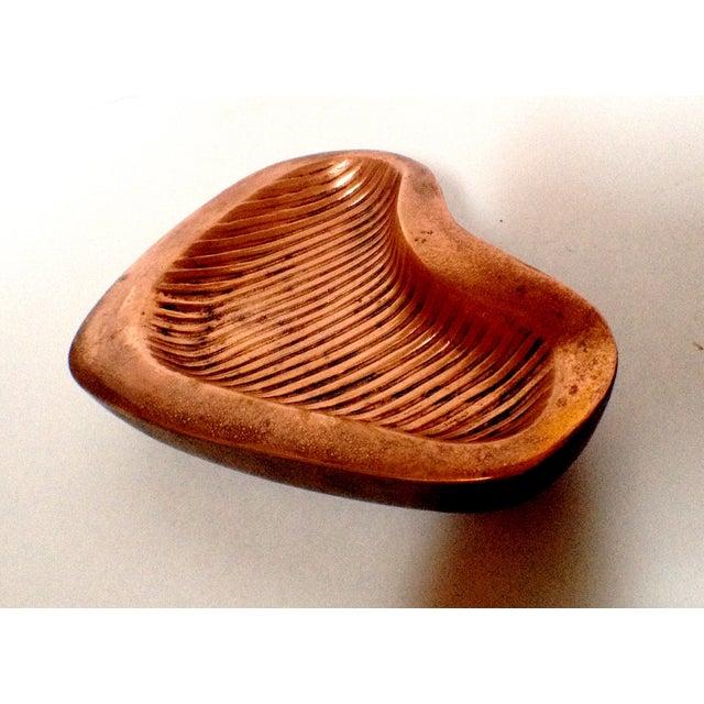 Ben Seibel Ben Seibel Copper Biomorphic Catch All For Sale - Image 4 of 4