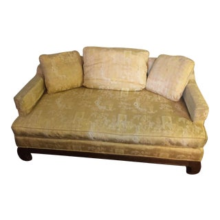 Vintage Drexel Heritage Upholstery Lounge and Daybed