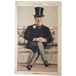 Vanity Fair Print Statesmen 1871 Henry Eaton