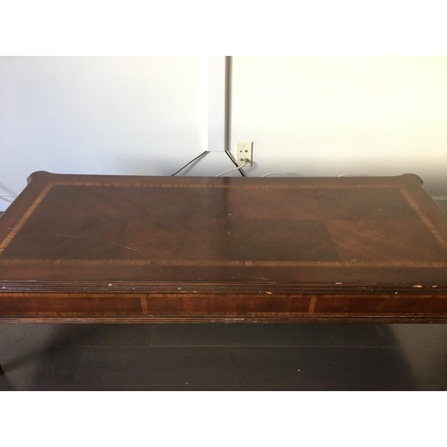 Vintage Traditional Coffee Table - Image 5 of 6