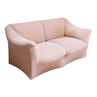 1970s Tentazione Loveseat Two-Seat Sofa by Mario Bellini for Cassina For Sale